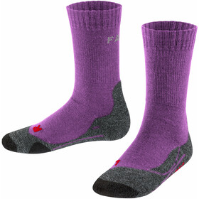 Falke TK2 Trekking Sokken Kinderen, violet